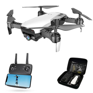 Global Drone FPV Selfie Dron Foldable Drone with Camera HD Wide Angle Live Video