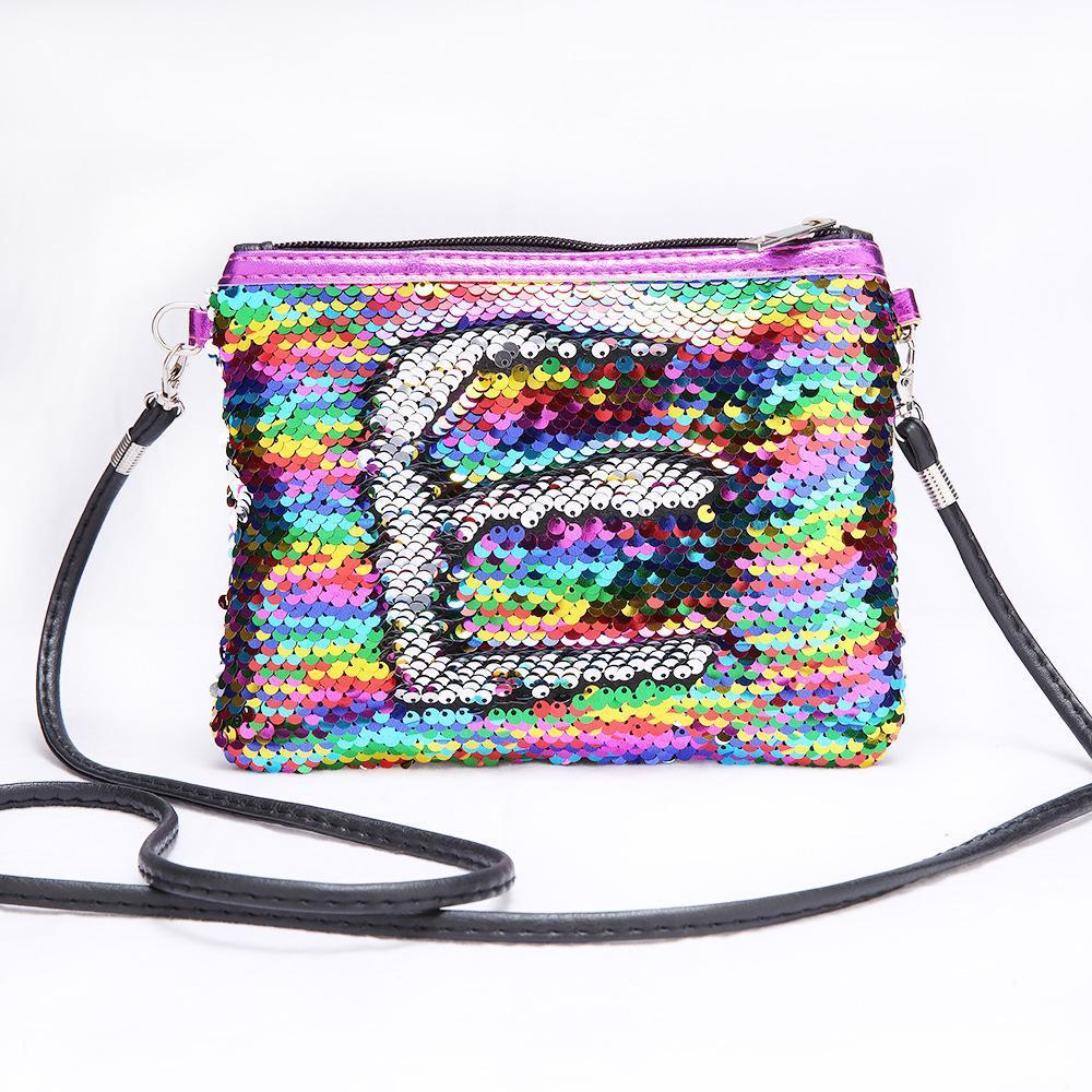 Children Mini Clutch Bag Sequins Color Change - Inspired Uplift Store
