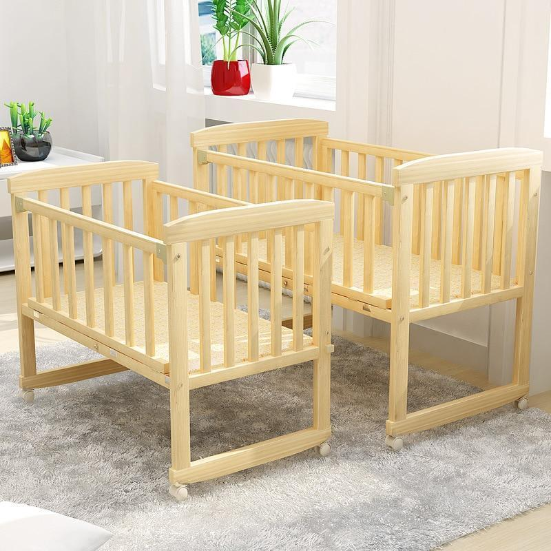 2 in 1 baby  sleep crib baby bed cradle - Inspired Uplift Store