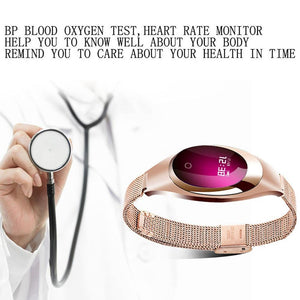 Smart Watch - Blood Pressure Heart Rate Monitor, Fitness Tracker, Pedometer. - Inspired Uplift Store