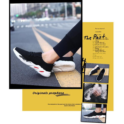 Moyu Fashion Sneaker - Zapatos de Mesh Transpirable