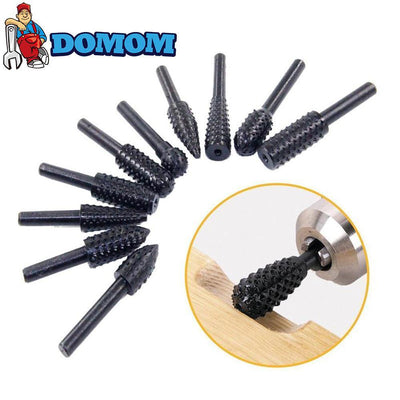 Domom® Brocas Rotativas de Doble Corte de Carburo Set