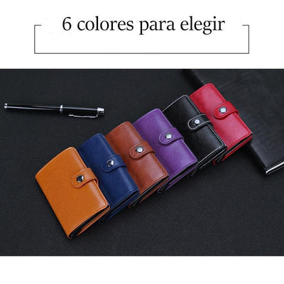 Billetero anti-desmagnetización, 6 colores