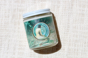 mermaid tears beach candle