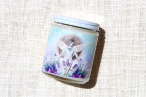 forest fairy cosmic candle