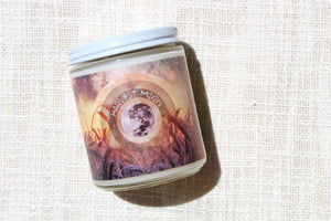 harvest moon fall pumpkin candle