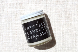 Crystals Candles Cannabis