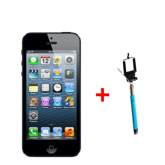 Apple iPhone 4s 16 GB  + Selfie Stick (6 month warranty) ( Refurbished )