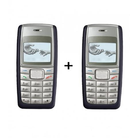 Nokia 1110i + Nokia 1110i  (with 6 month warranty) ( Refurbished )