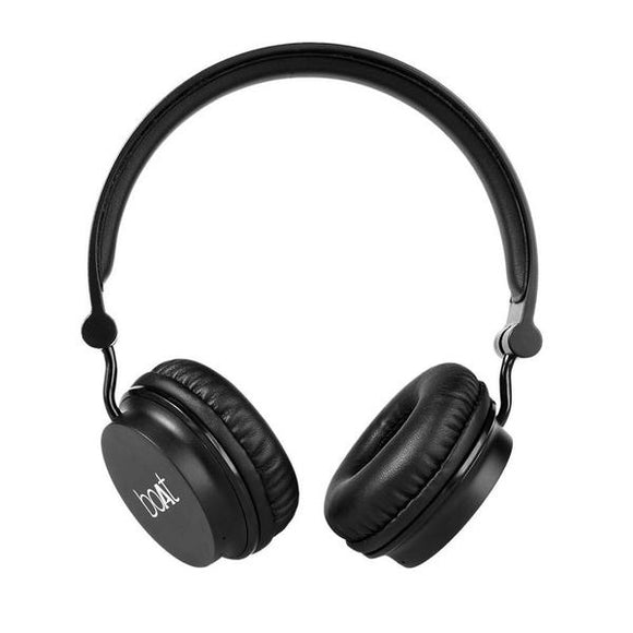 boAt Rockerz 400 Carbon On Ear Wireless Bluetooth Headphones With Mic