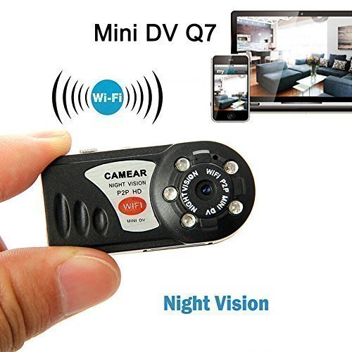 Mini Portable P2P WiFi IP Camera Indoor/Outdoor HD DV Hidden Spy Camera