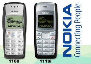 Nokia 1100 + Nokia 1110i(with 6 months warranty) ( Refurbished )