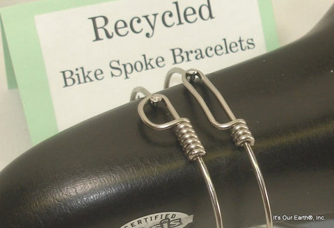 Bike Spoke Bracelet - SET 1 Small + 1 Large