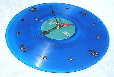 "Clock made w/a LANA DEL REY Record / ""Ultraviolence"" (2014) Blue Color Vinyl"