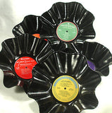 Holiday Pack of Recycled Record Bowls
