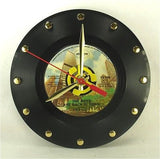 Clock made w/a THIN LIZZY Record / The Boys Are Back In Town