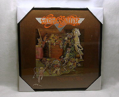 "AEROSMITH Framed Album Cover ""Toys In The Attic"" (1975)"
