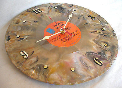 Clock Made W A Dave Mason Record Alone Together Brown