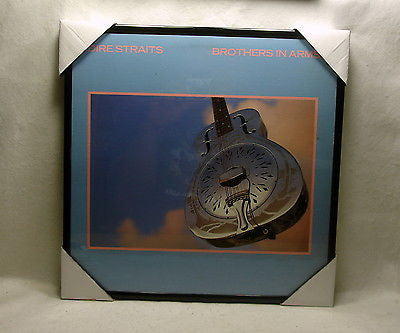 "DIRE STRAITS Framed Album Cover ""Brothers In Arms"" (1985)"