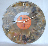 Clock made w/a DAVE MASON Record / Alone Together / Brown Marble Color Vinyl