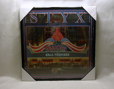 "STYX Framed Album Cover ""Paradise Theatre"" (1981)"