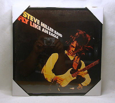"STEVE MILLER Framed Album Cover ""Fly Like An Eagle"" (1976)"