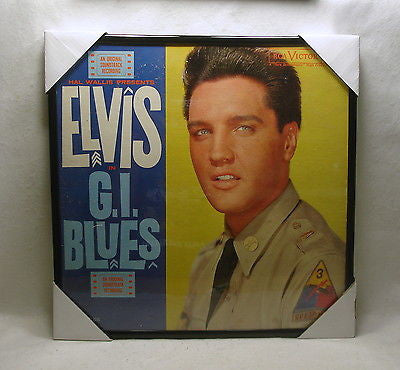 "ELVIS PRESLEY Framed Album Cover ""G.I. Blues"" (1960)"