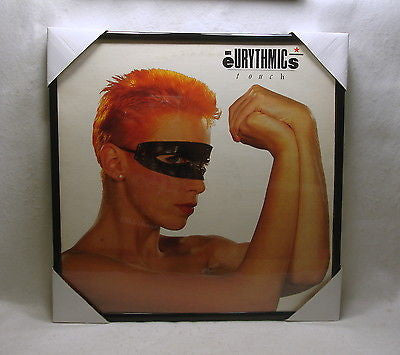 "EURYTHMICS Framed Album Cover ""Touch"" (1983)"