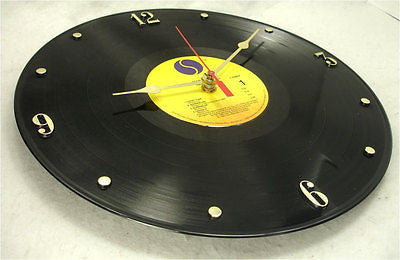 Clock made w/a MADONNA Record / Madonna (Debut Album)