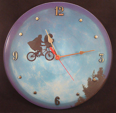 Clock made w/a E.T. Record / E.T. The Extra Terrestial Soundtrack / Picture Disc
