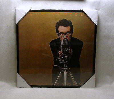 "ELVIS COSTELLO Framed Album Cover ""This Year's Model"" (198)"