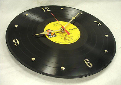 Clock made w/a CREAM Record / The Best Of Cream