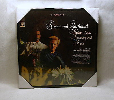 "SIMON & GARFUNKEL Framed Album Cover ""Parsley Sage.."" (1966)"