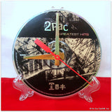 Recycled CD Desk Clock