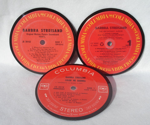 Recycled Record Drink Coaster