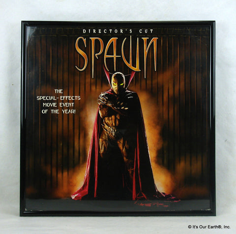 Framed Laserdisc Movie Cover Art