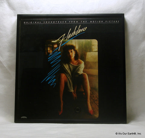"FLASHDANCE Framed Album Cover ""Movie Soundtrack"" (1983)"