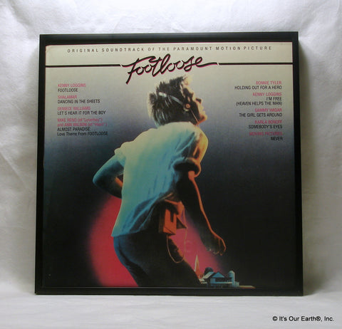 FOOTLOOSE Framed Album Cover - Movie Soundtrack (1984)