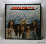 "AEROSMITH Framed Album Cover ""Aerosmith (Debut)"" (1973)"