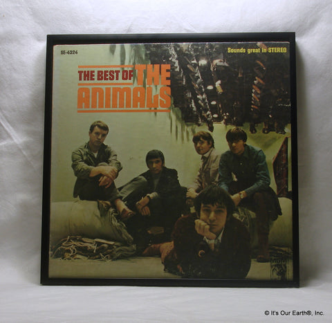 "THE ANIMALS Framed Album Cover ""The Best Of"" (1966)"