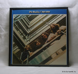 "BEATLES Framed Album Cover ""1967-1970 a.k.a. The Blue Album"" (1973)"