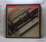 "BEATLES Framed Album Cover ""1962-1966 a.k.a. The Red Album"" (1973)"