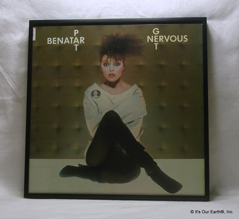 "PAT BENATAR Framed Album Cover ""Get Nervous"" (1982)"