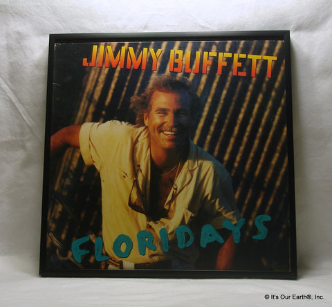 "JIMMY BUFFETT Framed Album Cover ""Floridays"" (1986)"