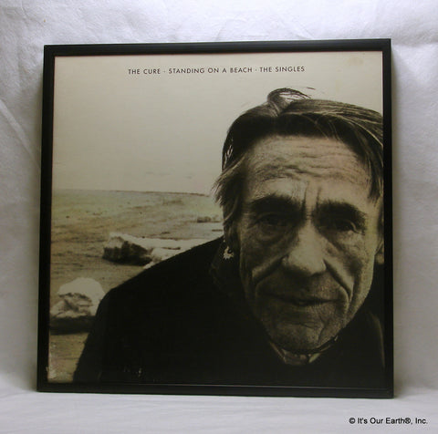"The CURE Framed Album Cover ""Standing On The Beach"" (1986)"