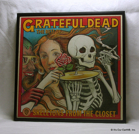 "GRATEFUL DEAD Framed Album Cover ""Skeletons From The Closet"" (1974)"