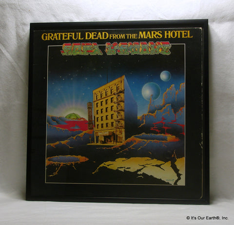 "GRATEFUL DEAD Framed Album Cover ""From The Mars Hotel"" (1974)"