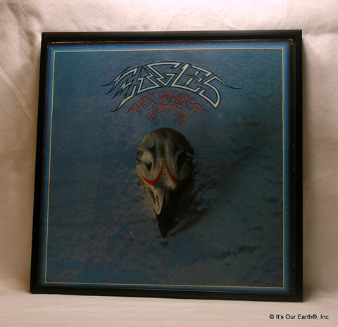 "EAGLES Framed Album Cover ""Their Greatest Hits"" (1976)"