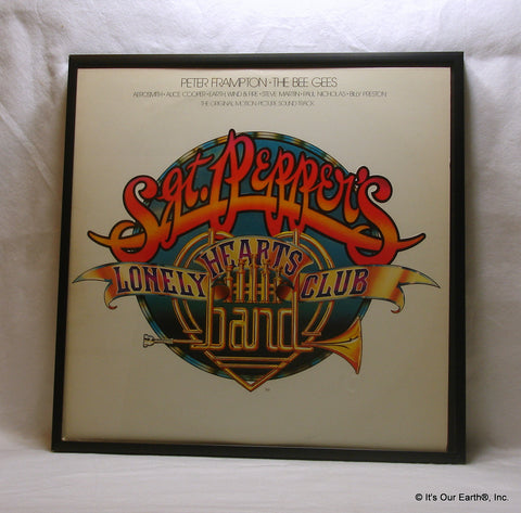 SGT. PEPPERS Framed Album Cover - Movie Film Soundtrack (1978)
