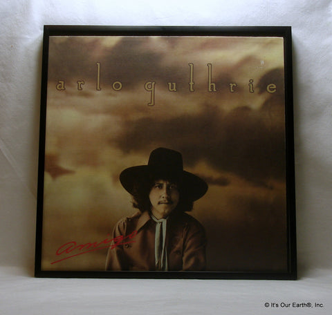 "ARLO GUTHRIE Framed Album Cover ""Amigo"" (1976)"